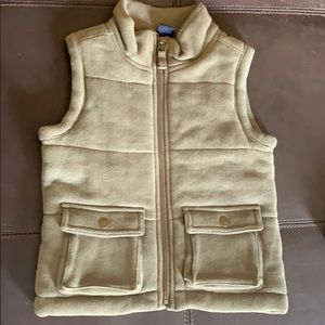 Beautiful Baby Gap Olive Green 3T zip up puff Vest